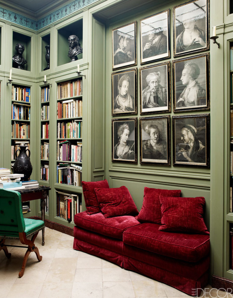 06-Primary-green-is-kept-mute-and-a-bold-green-chair-and-bright-red-sofa-make-accents-here