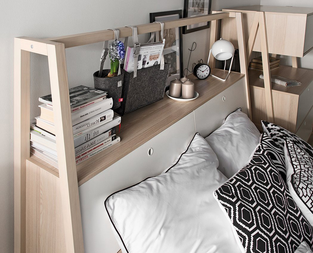 06-The-headboard-includes-a-lot-of-storage-space