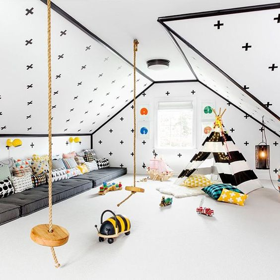 22-bold-play-space-with-a-teepee-and-floor-seatings