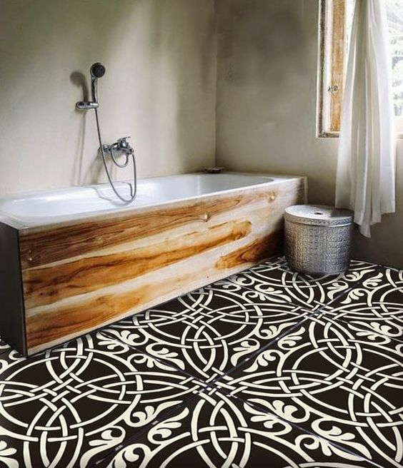 31-oversized-black-and-white-bathroom-tiles-really-make-a-statement