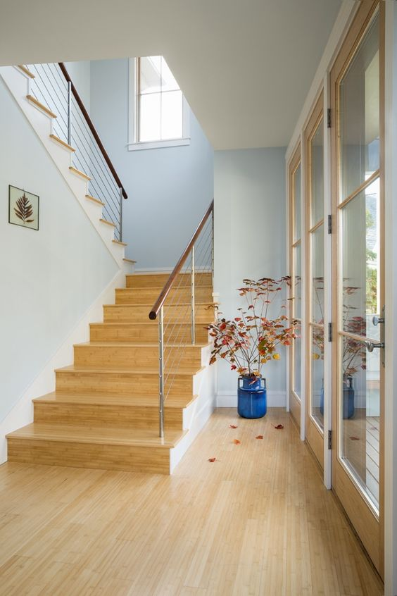 32-light-colored-bamboo-make-this-entry-contemporary-and-stylish