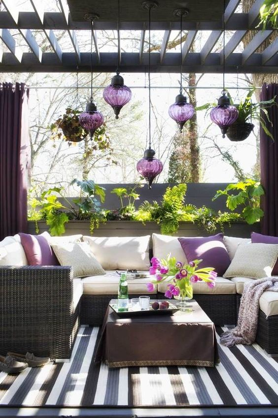 45-Moroccan-purple-hanging-lanterns-for-a-patio