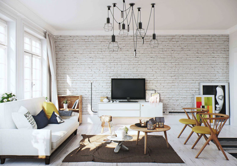 03-A-whitewashed-brick-wall-and-black-wire-lamps-add-a-cool-industrial-touch-to-the-space-775x543