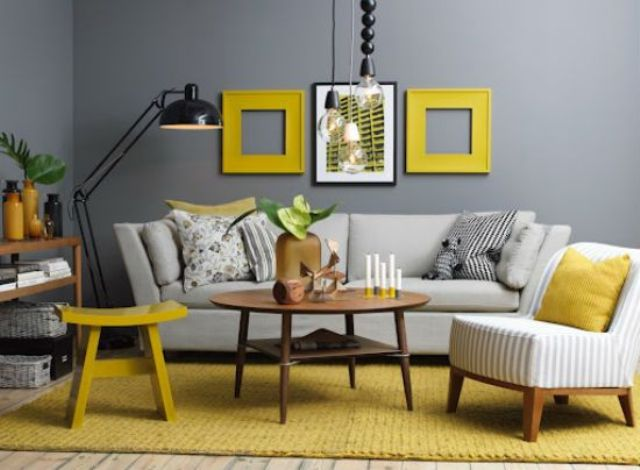 05-gunmetal-grey-contrasts-with-yellow-frames-a-rug-and-a-stool