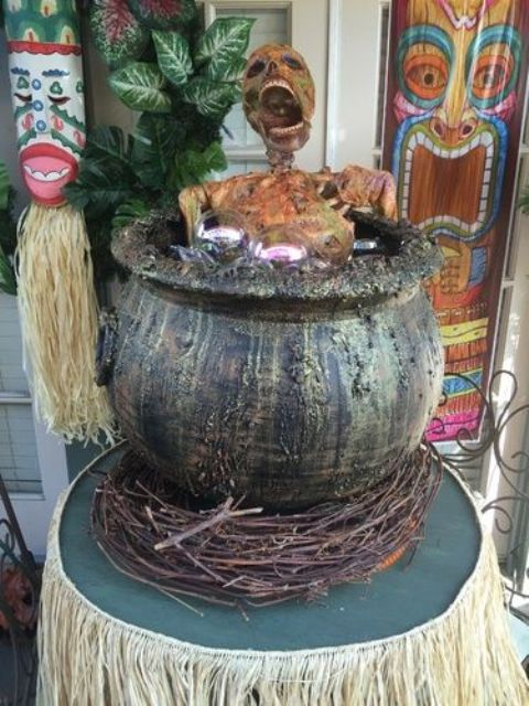 21-tiki-party-done-right-a-skeleton-cooked-in-a-cauldron