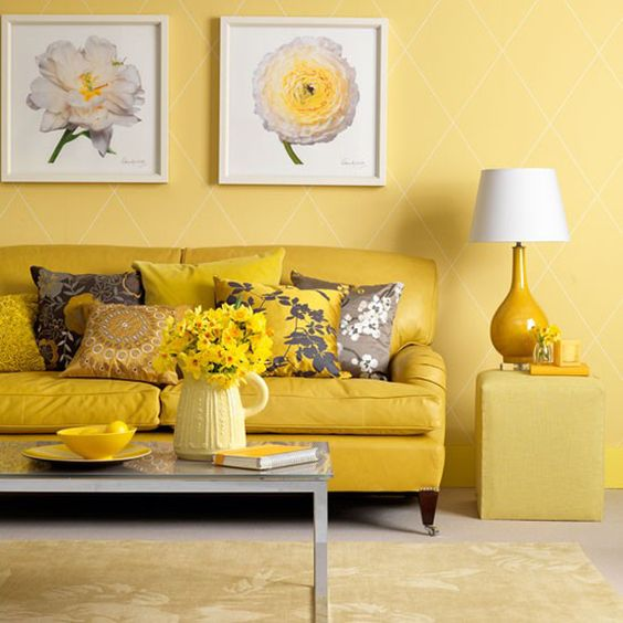 22-daring-sunny-yellow-living-room-with-a-couple-of-calming-grey-touches