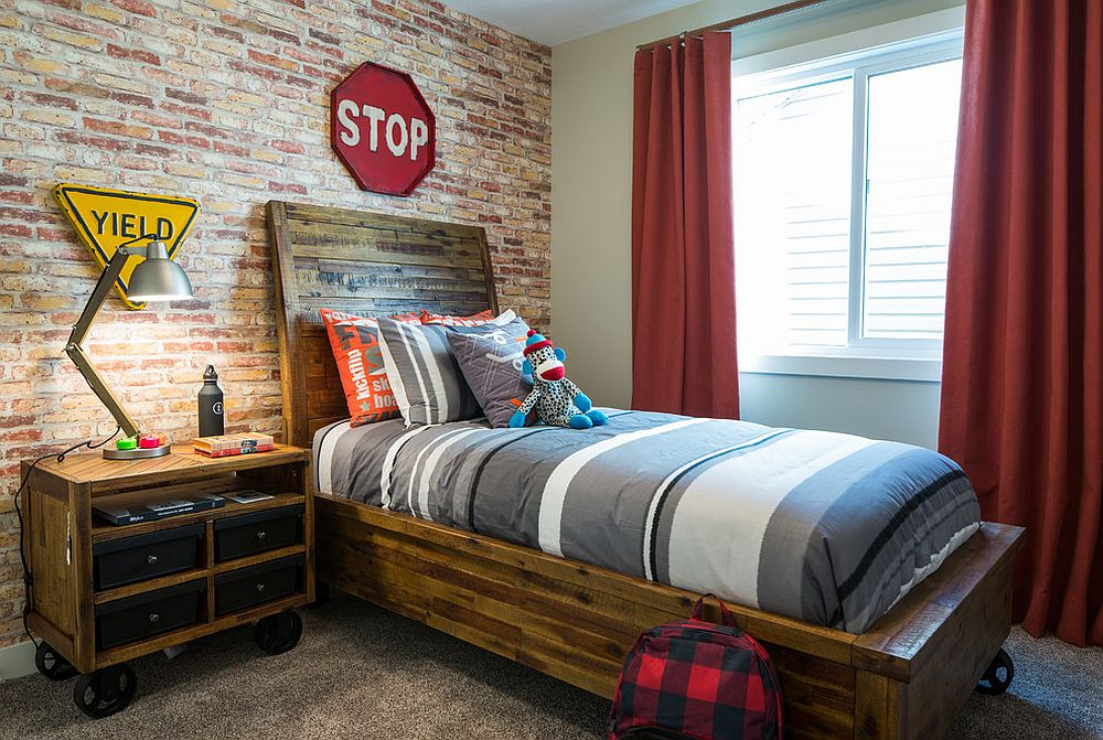 26-industrial-boys-room-cant-do-without-a-brick-wall
