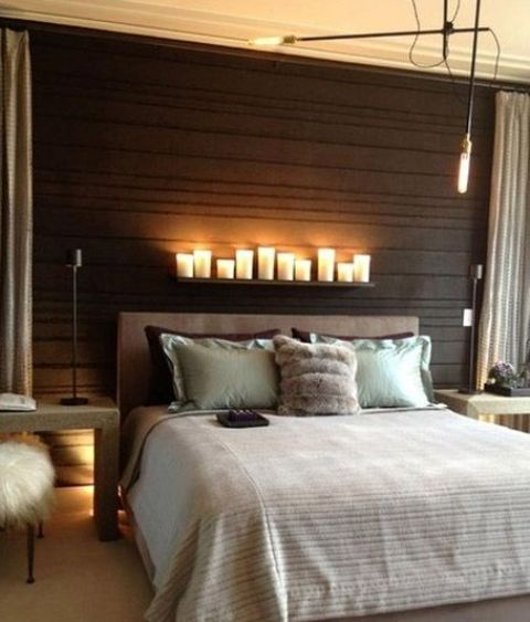 02-small-LED-lamps-and-pillar-candles-on-the-shelf-above-the-bed