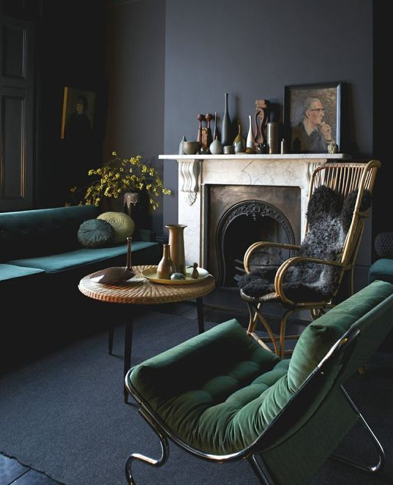 05-dark-and-moody-grey-room-with-grass-green-and-emerald-touches-for-a-chic-decadent-look