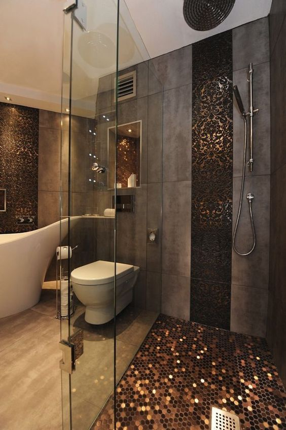 05-metallic-copper-shower-floor-looks-absolutely-gorgeous-and-refined