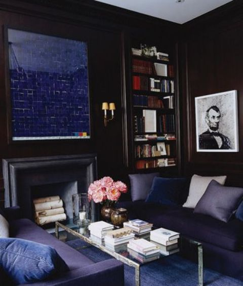 05-navy-living-room-with-a-faux-fireplace-and-a-navy-mirror-over-it