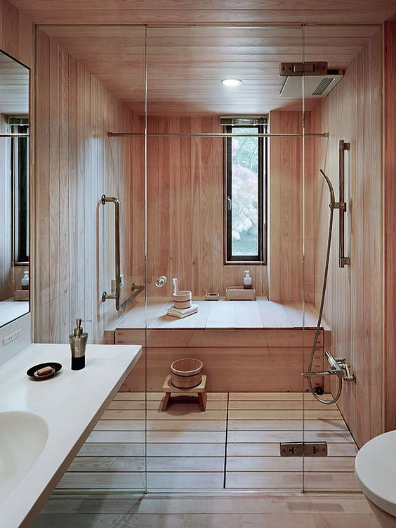 09-Japanese-steam-room-and-shower-totally-clad-with-wood-make-you-feel-relaxed