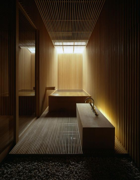 13-bathroom-totally-clad-with-light-wood-with-hidden-lights-look-relaxing-and-a-bit-mysterious