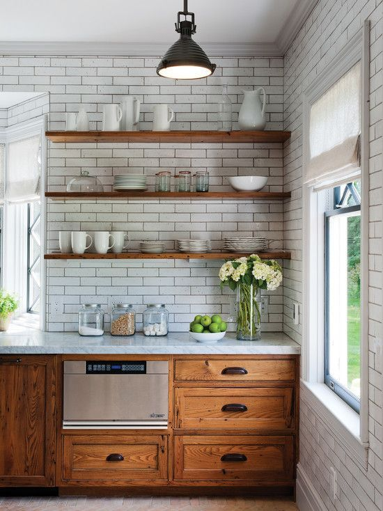 13-rustic-kitchen-with-wooden-cabinets-and-walls-covered-with-subway-tiles