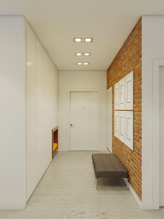 16-minimalist-entryway-with-a-red-brick-wall-made-with-panels