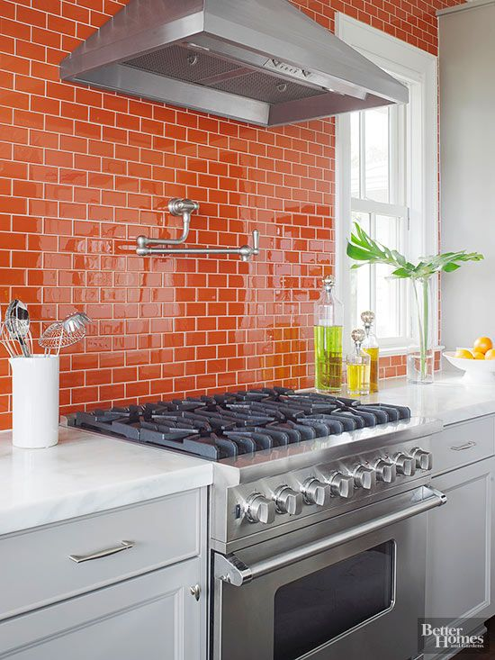 19-bold-orange-kitchen-backsplash-and-wall-covered-in-offset-pattern