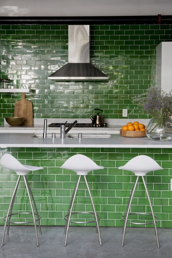 21-grass-green-subway-tiles-as-a-backsplash-and-on-the-kitchen-island