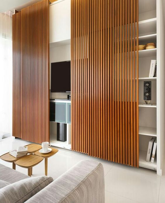 22-bamboo-screens-for-hiding-a-TV-unit