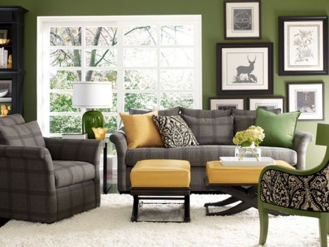 22-grass-green-living-room-with-sunny-yellow-and-checked-grey-accents