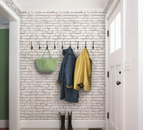22-white-brick-peel-and-stick-wallpaper-will-let-you-add-style-without-many-efforts
