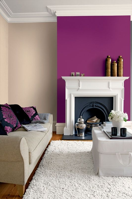 23-purple-alcove-wall-in-a-cream-room-looks-refreshing-and-lively