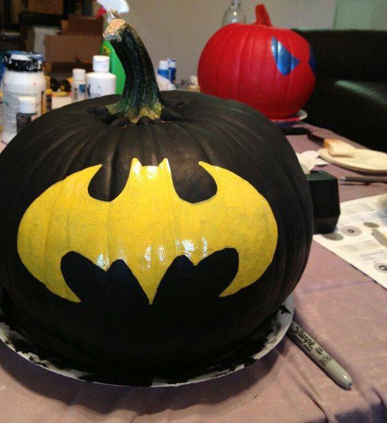 27-Batman-painted-pumpkin-is-an-easy-idea-to-recreate-you-just-need-a-template