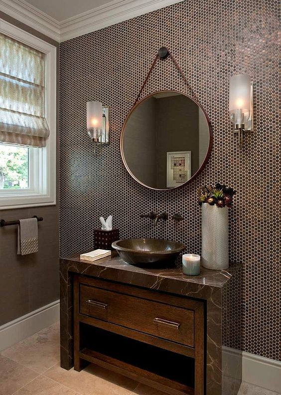 27-penny-tiles-in-the-shades-of-brown-highlights-the-sink-and-a-marble-counter