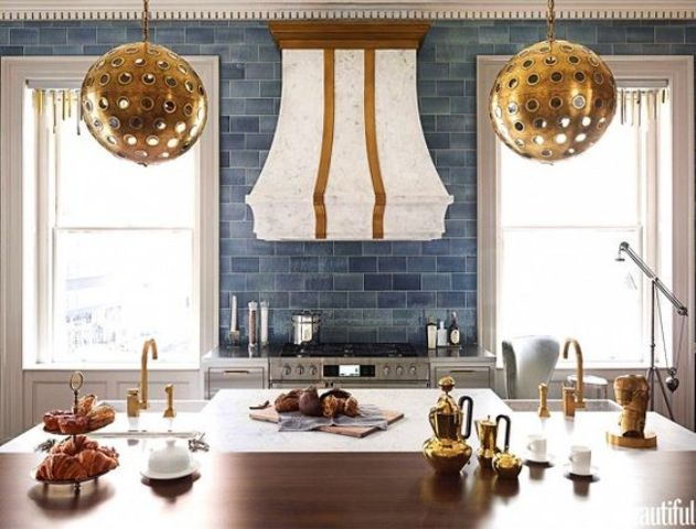 30-art-deco-kitchen-with-blue-subway-tiles-of-different-shades