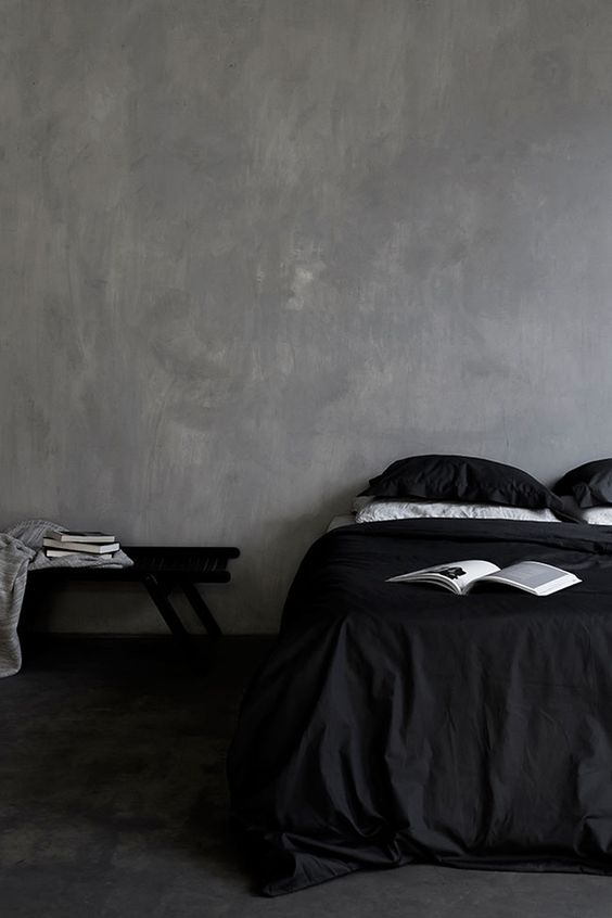 dark-alluring-bedroom-with-very-simple-and-minimalist-decor
