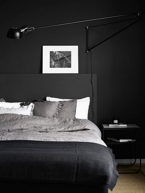 minimalist-bedroom-design-with-matte-surfaces-is-ideal-for-a-laconic-masculine-bedroom