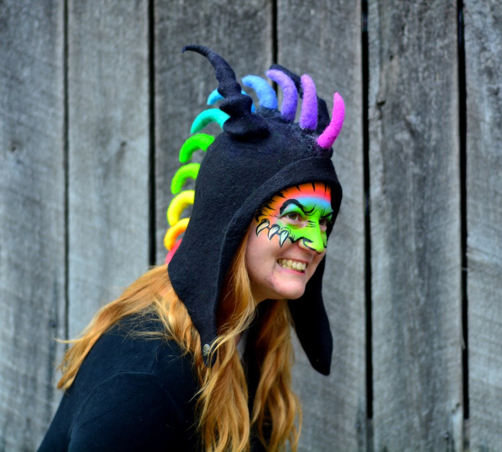 neon_rainbow_dragon_hood_by_handicraftkate-d8oa4ug