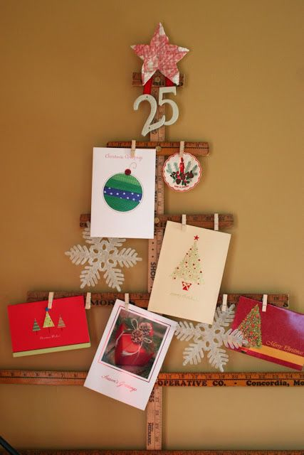 08-wooden-ruler-Christmas-tree-for-ahgning-cards-and-pics