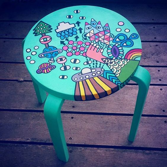 14-painted-Frosta-stool