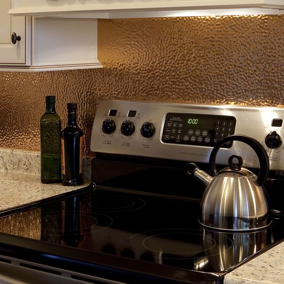 18-hammered-and-polished-copper-metal-backsplash