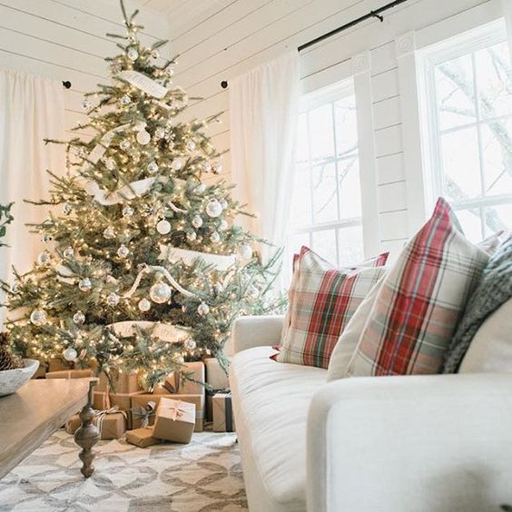 18-white-and-silver-Christmas-tree-looks-harmonious-in-a-neutral-interior