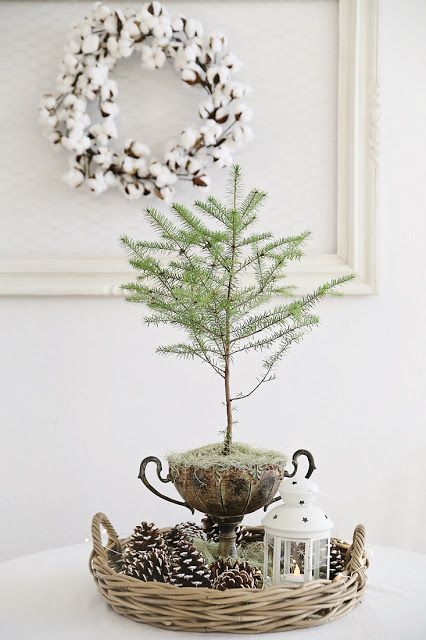 21-a-basket-with-pinecones-a-lantern-and-a-branch-a-cotton-wreath-on-the-wall