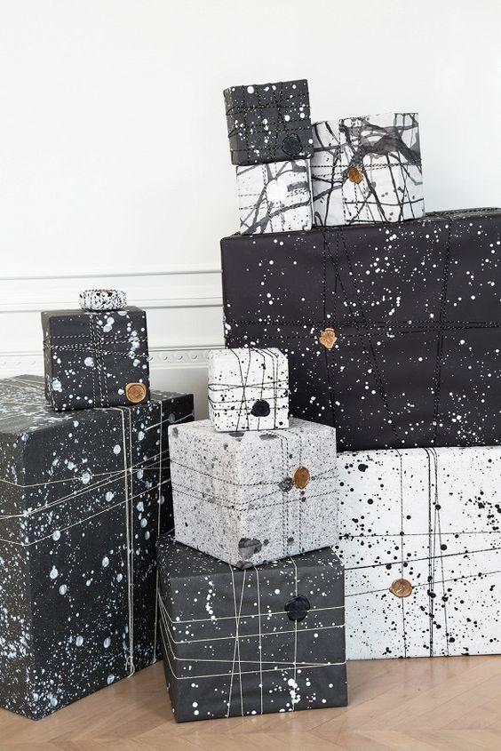 22-splatter-black-and-white-gift-wrapping-is-unusual