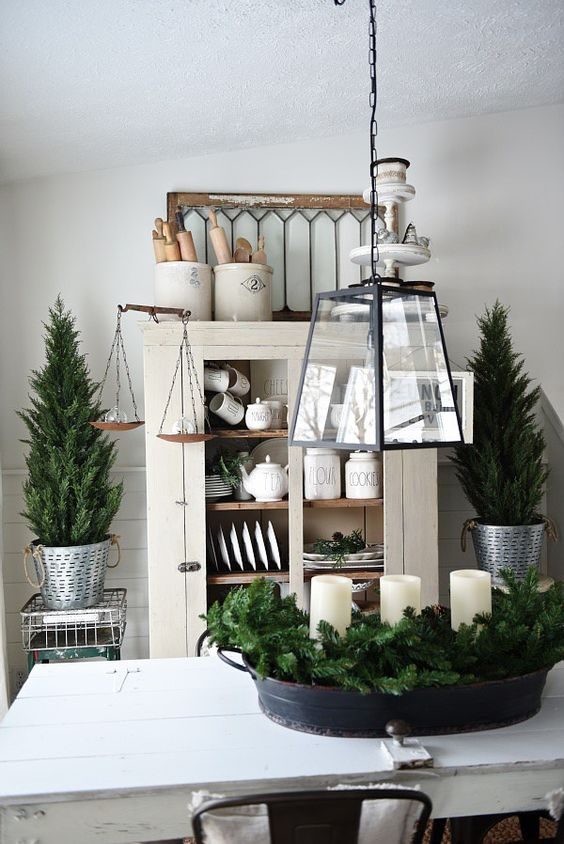 23-decorate-your-home-with-evergreens-and-candles-with-no-other-decor-and-keep-it-neutral
