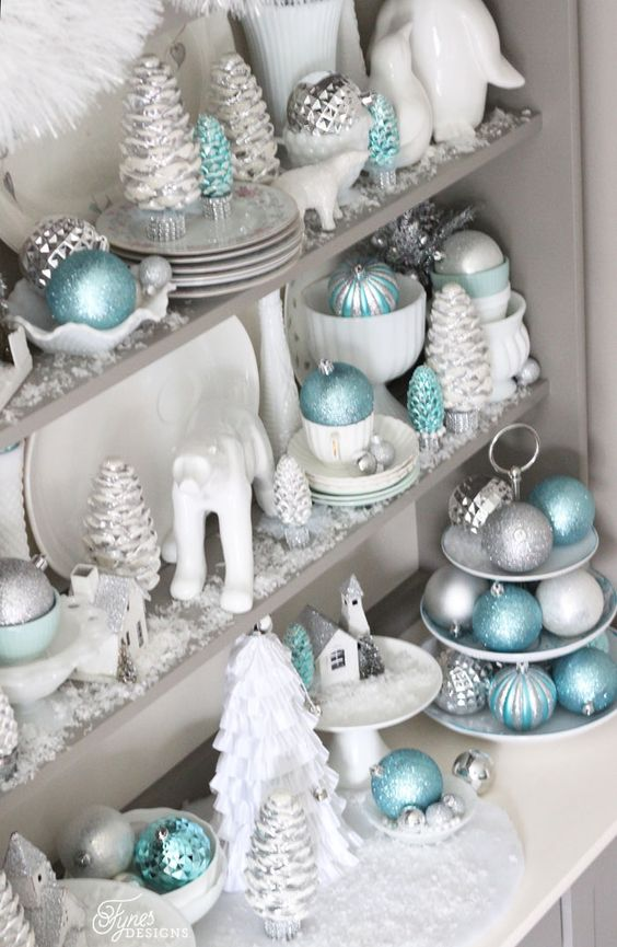 25-aqua-silver-and-white-Christmas-decor