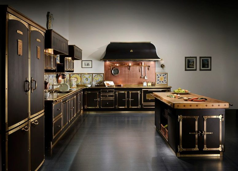 25-stunning-black-art-deco-kitchen-with-a-copper-backsplash-is-bursting-with-style-775x559