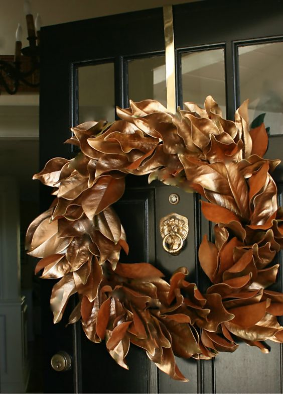26-copper-magnolia-leaves-wreath