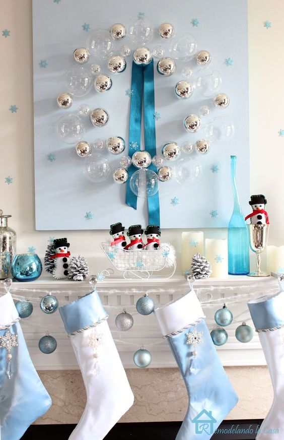 26-serenity-blue-and-white-stockings-and-ornaments-for-mantel-decor