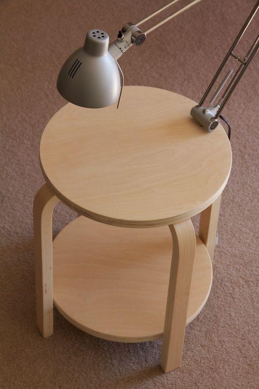 29-make-a-side-table-with-two-tops-to-accomodate-more-things-you-just-need-two-Frosta-stools