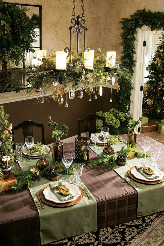 36-greenery-and-gold-ornaments-for-a-candle-chandelier
