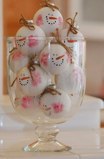 36-snowman-ornaments-for-decorating-a-Christmas-tree