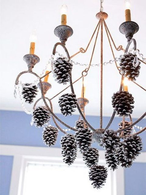 39-hang-snowy-pinecones-on-the-chandelier