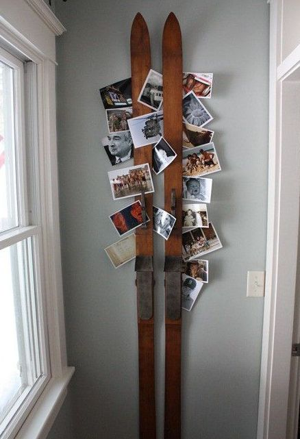 42-skis-can-be-used-for-a-rustic-card-and-photo-display