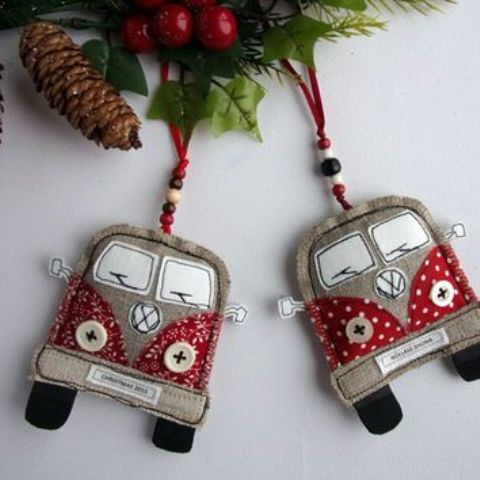 11-VW-van-Christmas-ornaments-of-fabric