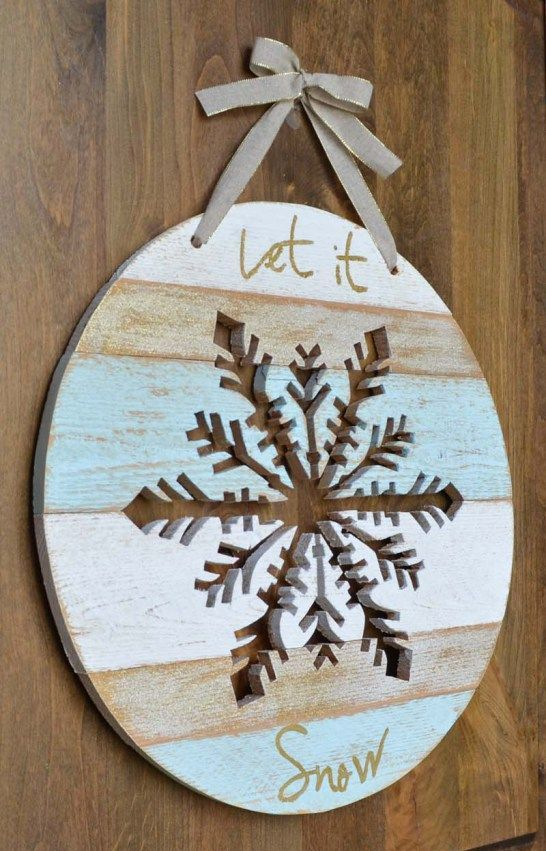14-Let-It-Snow-door-hanger-with-a-snowflake-cut-out-in-it