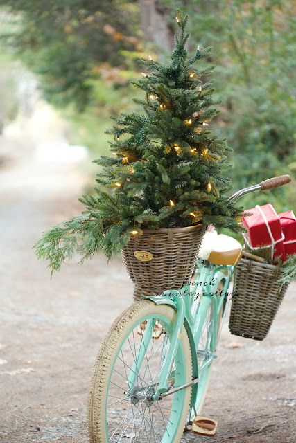 15-a-small-tree-with-lights-in-a-basket-of-a-mint-colored-bike-has-a-wow-factor